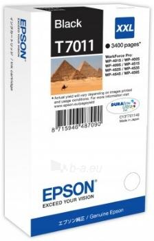 Rašalas Epson T701 black XXL | WP4000/4500 Paveikslėlis 1 iš 1 2502560202349