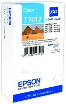 Rašalas Epson T701 cyan XXL | 3400psl. | WP4000/4500 Paveikslėlis 1 iš 1 2502534500504