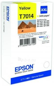 Rašalas Epson T701 yellow XXL | 3400psl. | WP4000/4500 Paveikslėlis 1 iš 1 2502534500506