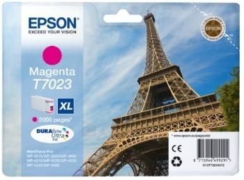 Rašalas Epson T702 magenta XL   2000str   WP4000/4500 Paveikslėlis 1 iš 1 2502534500508