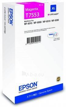 Rašalas Epson T7553 cyan XL | WF-8010/WF-8090/WF-8510/WF-8590 Paveikslėlis 1 iš 1 2502560202375