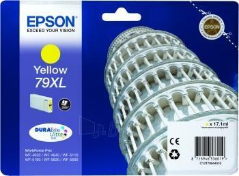 Rašalas Epson yellow T7904 | 17 ml | WF-5110DW/WF-5190DW/WF-5620DWF/WF-5690DWF Paveikslėlis 1 iš 1 2502560202352