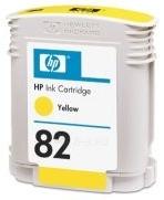 Rašalas HP 82 yellow | 69ml | designjet800/800ps500/500ps120/120nr Paveikslėlis 1 iš 1 2502534500519