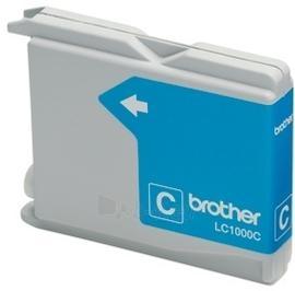 Rašalo kasetė Brother LC1000C cyan   400psl   DCP330C/ DCP540CN/ MFC5460CN Paveikslėlis 1 iš 1 310820037552