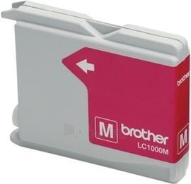 Rašalo kasetė Brother LC1000M magenta | 400psl | DCP330C/ DCP540CN/ MFC5460CN Paveikslėlis 1 iš 1 2502534500564