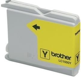 Rašalo kasetė Brother LC1000Y yellow | 400psl | DCP330C/ DCP540CN/ MFC5460CN Paveikslėlis 1 iš 1 2502534500565
