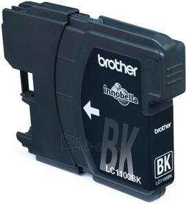 Rašalo kasetė Brother LC1100BK black| 450psl | DCP395CN/DCP585CW/DCP6690CW Paveikslėlis 1 iš 1 2502534500566