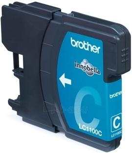 Rašalo kasetė Brother LC1100C cyan | 325psl | DCP395CN/DCP585CW/DCP6690CW Paveikslėlis 1 iš 1 2502534500567