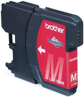 Rašalo kasetė Brother LC1100M magenta | 325psl | DCP395CN/DCP585CW/DCP6690CW Paveikslėlis 1 iš 1 2502534500572