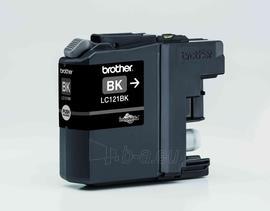 Rašalo kasetė Brother LC121BK Black | DCP-J552DW/MFC-J470DW Paveikslėlis 1 iš 1 2502534500573