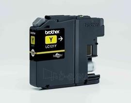 Rašalo kasetė Brother LC121Y yellow | DCP-J552DW/MFC-J470DW Paveikslėlis 1 iš 1 2502534500576