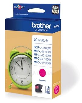 Rašalo kasetė Brother LC125XLM magenta | 1200 pgs | MFC-J4510DW Paveikslėlis 1 iš 1 2502534500583