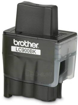 Rašalo kasetė Brother LC900BK Black | 500 psl | DCP110C/ MFC210C/410CN/5440CN Paveikslėlis 1 iš 1 2502534500594