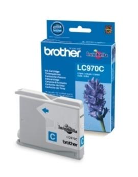 Rašalo kasetė Brother LC970C cyan   300 psl   DCP135/ DCP150/ MFC235/ MFC260 Paveikslėlis 1 iš 1 2502534500599