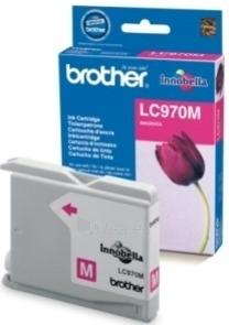 Rašalo kasetė Brother LC970M magenta | 300psl | DCP135/ DCP150/ MFC235/ MFC260 Paveikslėlis 1 iš 1 2502534500600