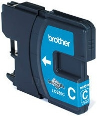Rašalo kasetė Brother LC980C cyan | 260psl | DCP145C/ DCP165C/ MFC250C/MFC290C Paveikslėlis 1 iš 1 2502534500603