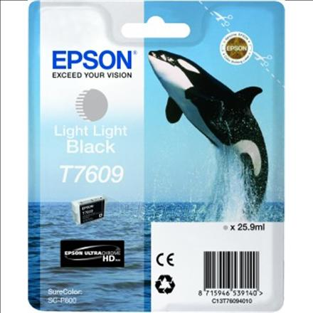 Epson T7609 Light Light Black ink 26ml Paveikslėlis 1 iš 1 2502560202137