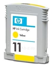 Rašalo kasetė HP 11 yellow   28ml   cp1700,bij22XX,bij2600 Paveikslėlis 1 iš 1 2502534500621