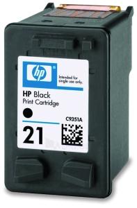 Rašalo kasetė HP 21 black | 5ml | DeskJet3940/3920,PSC1410 Paveikslėlis 1 iš 1 310820037574
