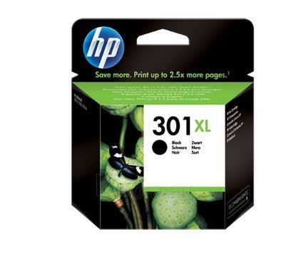 Rašalo kasetė HP 301XL black Paveikslėlis 1 iš 1 310820037579