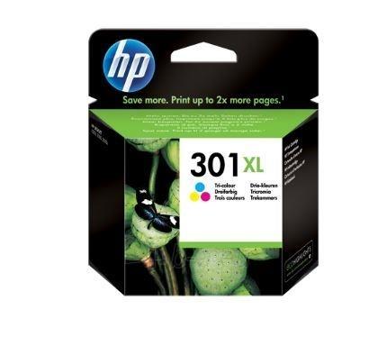 Rašalo kasetė HP 301XL tri-colour Paveikslėlis 1 iš 1 2502534500640