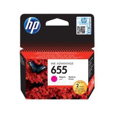 Rašalo kasetė HP 655 magenta Paveikslėlis 1 iš 1 310820037547