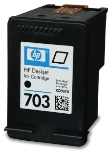 Rašalo kasetė HP 703 black | 4ml | DJ D730/F735 Paveikslėlis 1 iš 1 310820037588