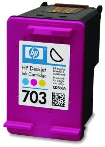 Rašalo kasetė HP 703 tri-colour   4ml   DJ D730/F735 Paveikslėlis 1 iš 1 310820037573