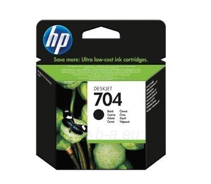Rašalo kasetė HP 704 juodas Paveikslėlis 1 iš 1 2502560202280