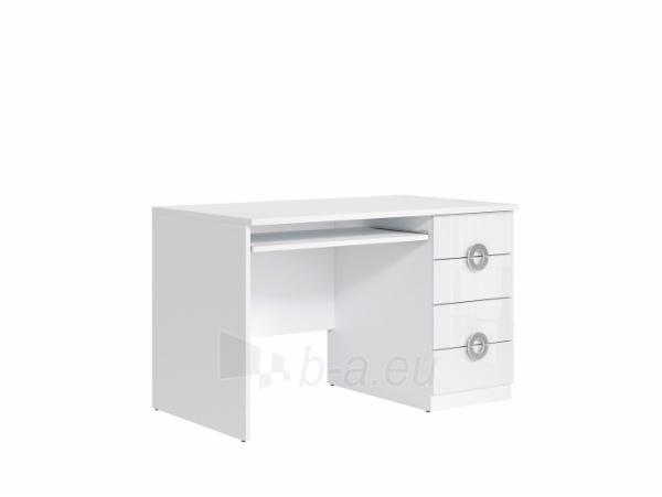 Rašomasis stalas BIU4S/120 balta blizgi Paveikslėlis 1 iš 1 250403116071