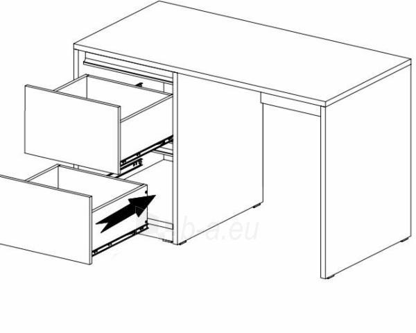 Rašomasis stalas Mati B1 Paveikslėlis 2 iš 3 310820013751