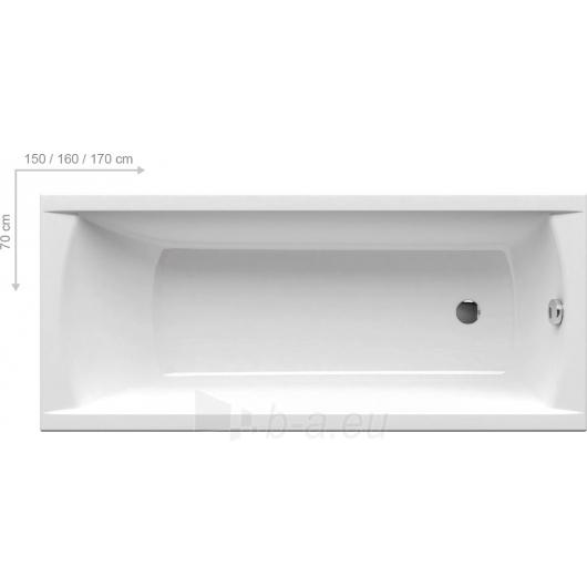 RAVAK CLASSIC 160x70, akrilinė vonia Paveikslėlis 2 iš 3 270716000535