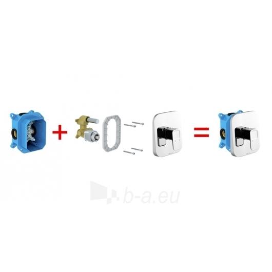 Ravak potinkinis maišytuvas 10° be jungiklio, skirtas R-box TD 0 Paveikslėlis 2 iš 3 270725000394