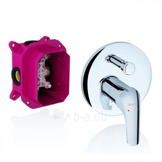 Ravak potinkinis maišytuvas Rosa su jungikliu, skirtas R-box, RS Paveikslėlis 1 iš 2 270725000380