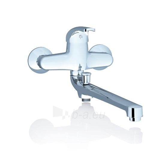 Ravak sieninis vonios/dušo maišytuvas Rosa su ilgu snapeliu, 150 Paveikslėlis 1 iš 1 270725000384