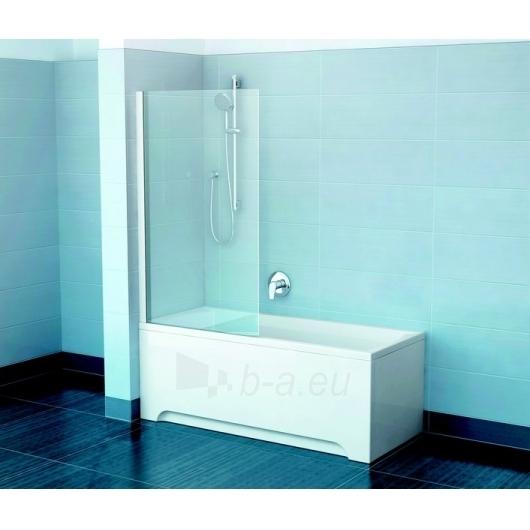 Ravak vonios sienelė PVS1 satinas/Transparent Paveikslėlis 2 iš 2 270717001031