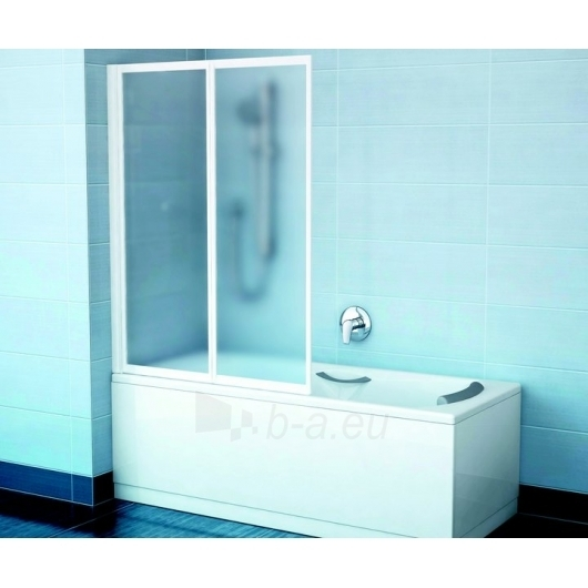 Ravak vonios sienelė VS2 satinas/Transparent Paveikslėlis 1 iš 3 270717001033