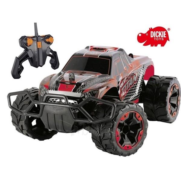 RC automobilis | Red Titan Amfibia | Dickie Paveikslėlis 1 iš 3 30007100126