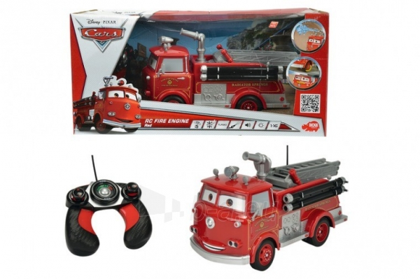 RC Fire brigade Eddie Smoby 203089549 RC gaisrinė Paveikslėlis 2 iš 2 310820050180