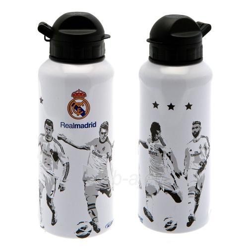 Real Madrid C.F. aliuminio gertuvė (Balta) Paveikslėlis 1 iš 7 251009001489