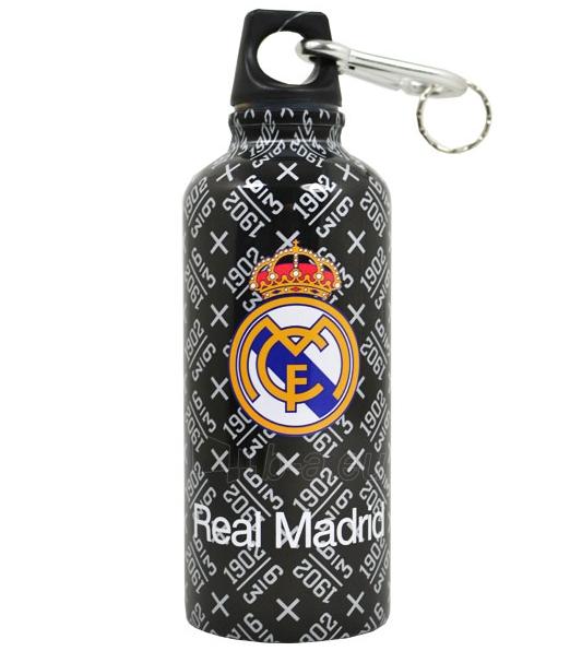 Real Madrid C.F. aliuminio gertuvė (juoda logo) Paveikslėlis 1 iš 2 251009001329