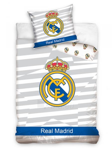 Real Madrid C.F. dvipusis patalynės komplektas Paveikslėlis 1 iš 2 251009001552