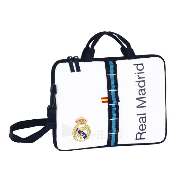 Real Madrid C.F. nešiojamojo kompiuterio krepšys (Baltas) Paveikslėlis 1 iš 2 251009001539