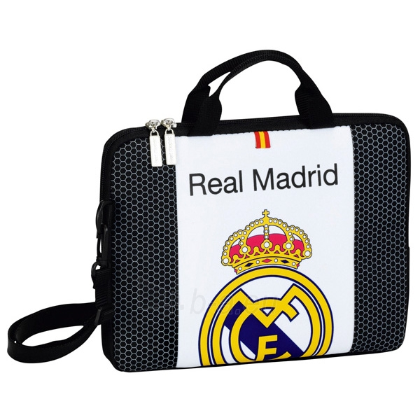 Real Madrid C.F. nešiojamojo kompiuterio krepšys (Emblema) Paveikslėlis 1 iš 2 251009001541