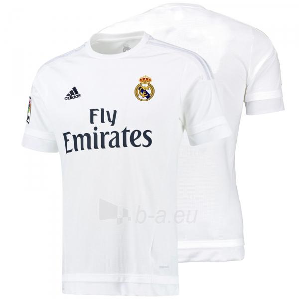 Real Madrid C.F. oficialūs Adidas rungtynių marškinėliai 2015-2016 Paveikslėlis 1 iš 5 251009001151