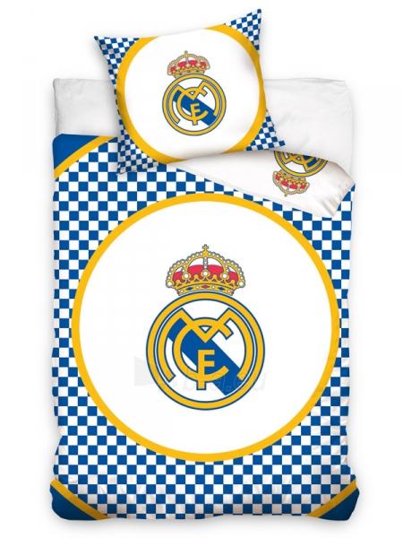 Real Madrid C.F. patalynės komplektas (Šachmatinė) Paveikslėlis 1 iš 2 251009001584