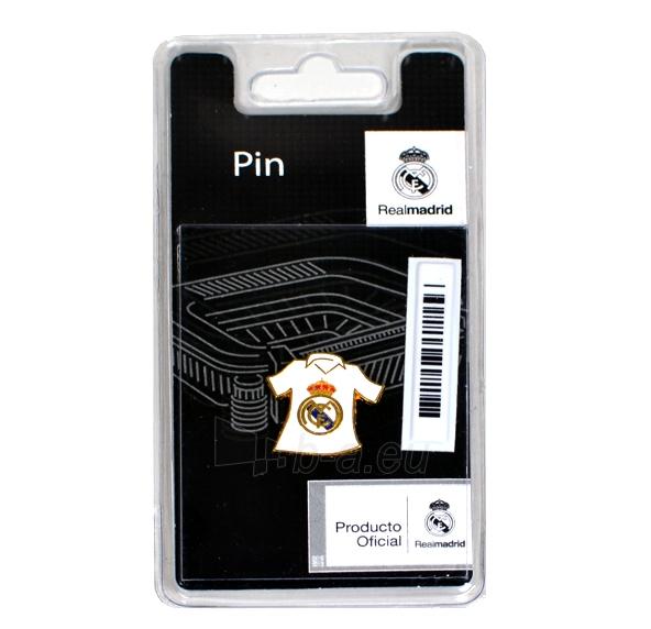 Real Madrid C.F. prisegamas klubo marškinėlių formos ženklelis Paveikslėlis 2 iš 2 251009001335
