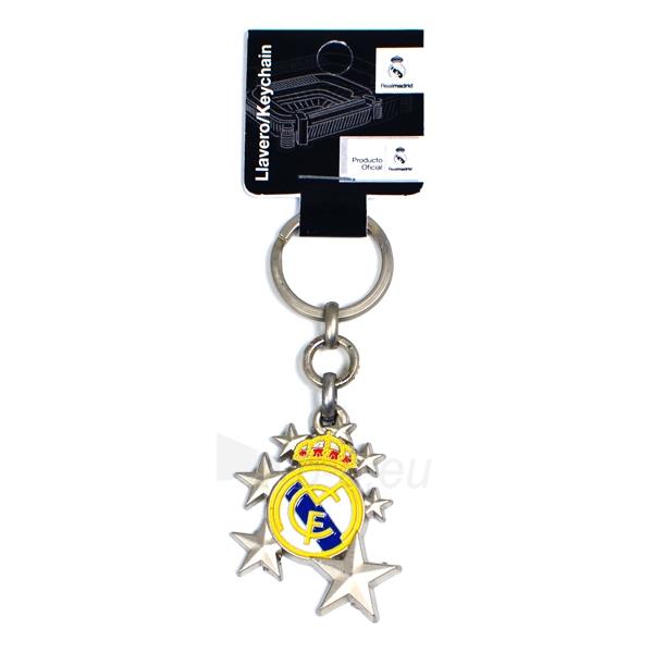 Real Madrid C.F. raktų pakabukas (žvaigždės) Paveikslėlis 1 iš 2 251009001547