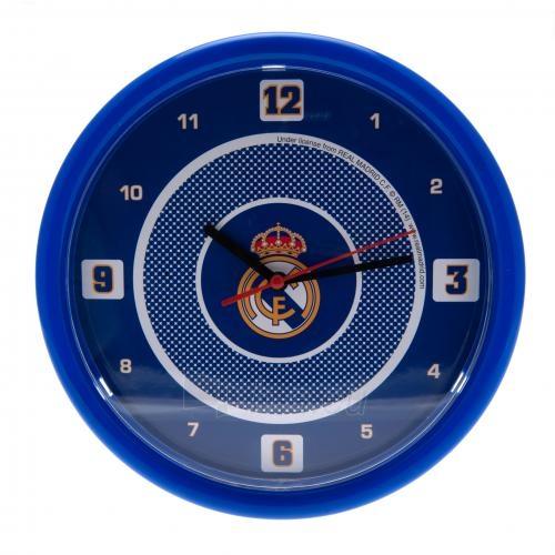 Real Madrid C.F. sieninis laikrodis Paveikslėlis 1 iš 3 251009000913