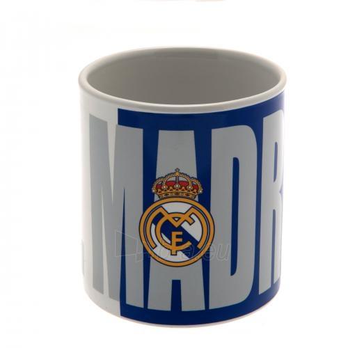 Real Madrid F.C. didelis puodelis (Pavadinimas  logotipas) Paveikslėlis 1 iš 5 251009001159